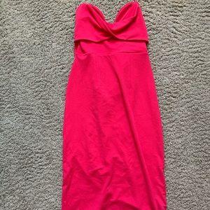 ASOS Hot Pink formal dress